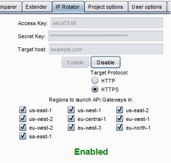 Bypassing IP Based Blocking with AWS API Gateway